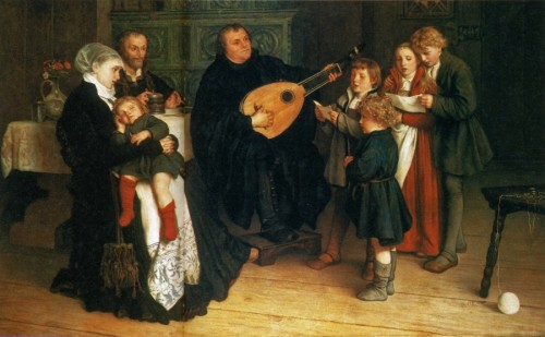 Luther and Family
